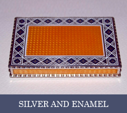 ENAMEL AND SILVER